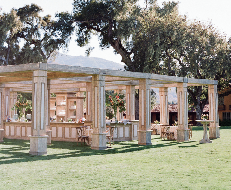www.santabarbarawedding.com | Rrivre  Works | Event Rental | Bar | Wedding Rentals