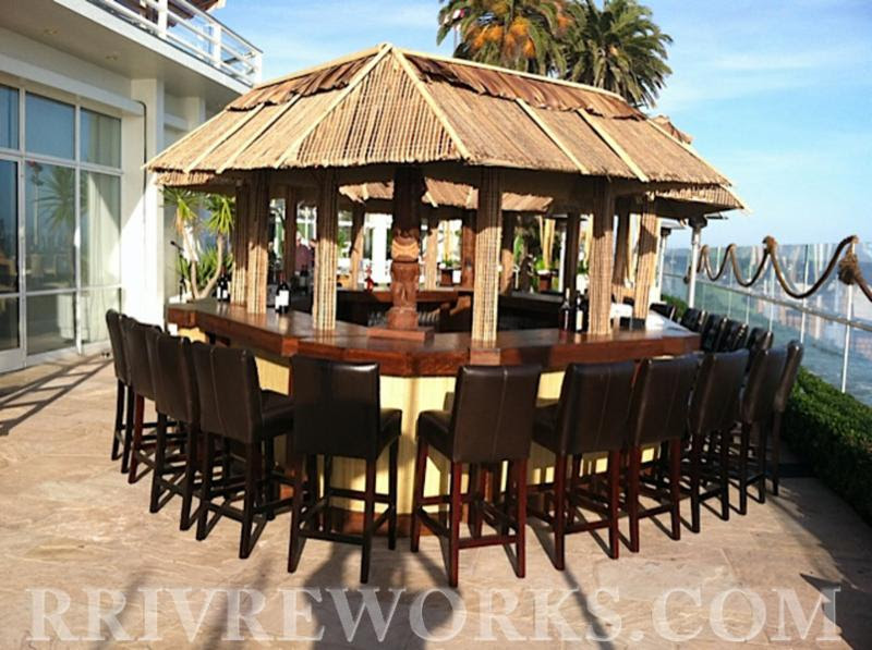 www.santabarbarawedding.com | Rrivre  Works | Event Rental | Tiki Bar | Wedding Rentals