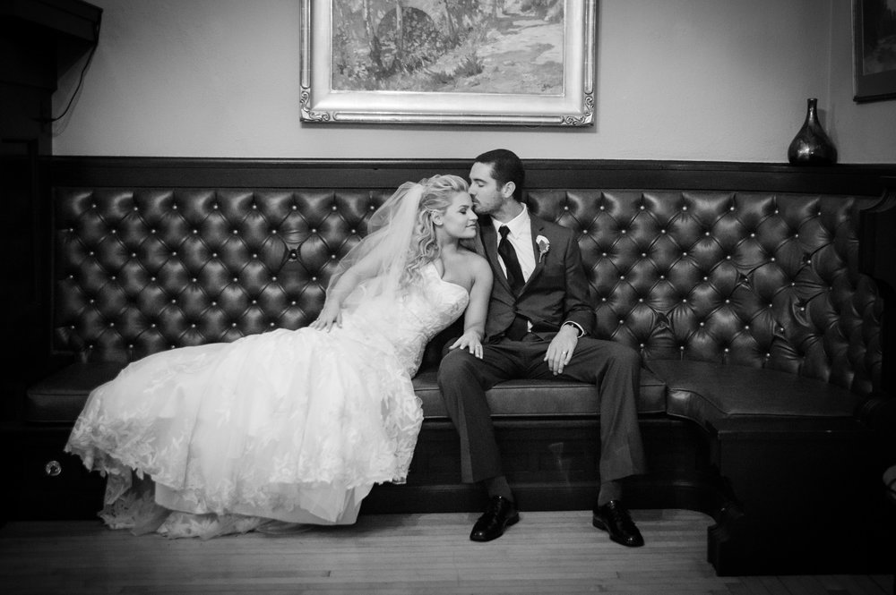 www.santabarbarawedding.com | ByCherry Photography | The Santa Barbara Club | Wedding Venue | Private Estate | Bride and Groom