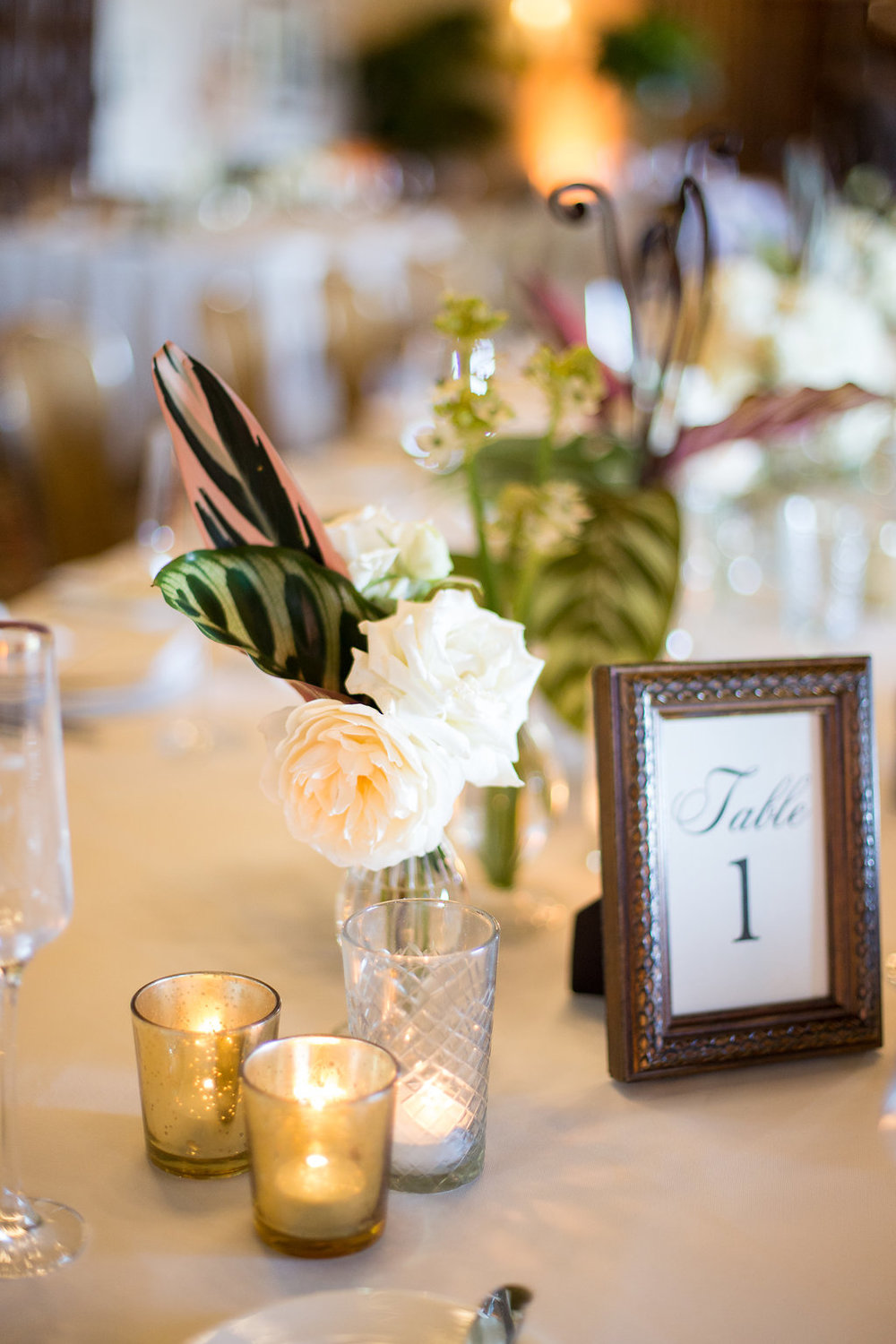 www.santabarbarawedding.com | Melissa Musgrove Photography | Four Seasons Resort The Biltmore | Reception | Table Number