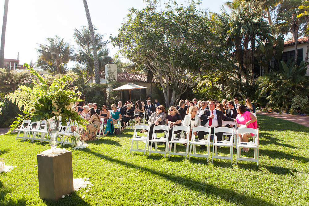 www.santabarbarawedding.com | Melissa Musgrove Photography | Four Seasons Resort The Biltmore | Ceremony