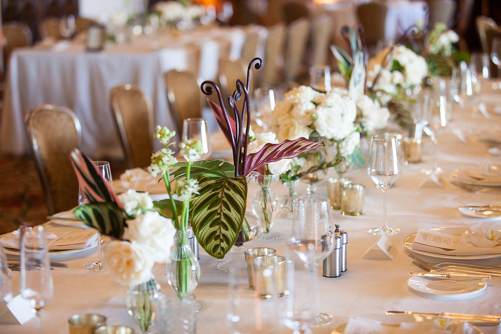 www.santabarbarawedding.com | Melissa Musgrove Photography | Four Seasons Resort The Biltmore | Reception Table