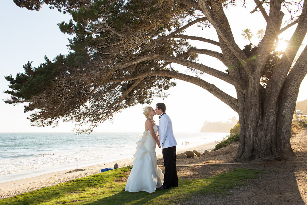 www.santabarbarawedding.com | Melissa Musgrove Photography | Four Seasons Resort The Biltmore | Bride and Groom