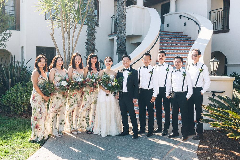 www.santabarbarawedding.com | Vitae Weddings | Bacara Resort | Bridal Party