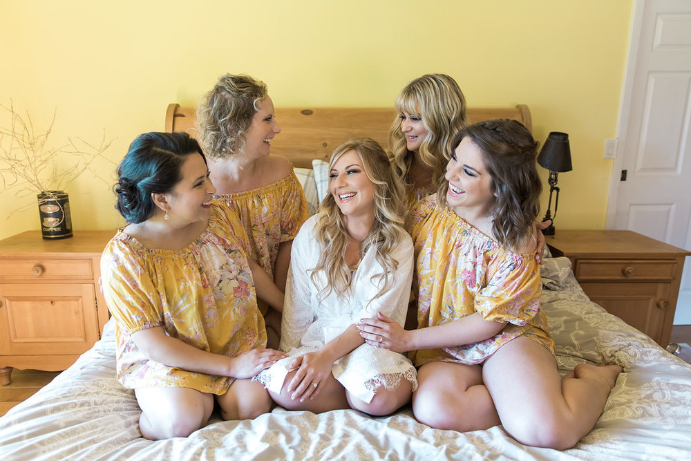 www.santabarbarawedding.com | Jessica Angell Photography | Apple Creek Ranch | Bridesmaids