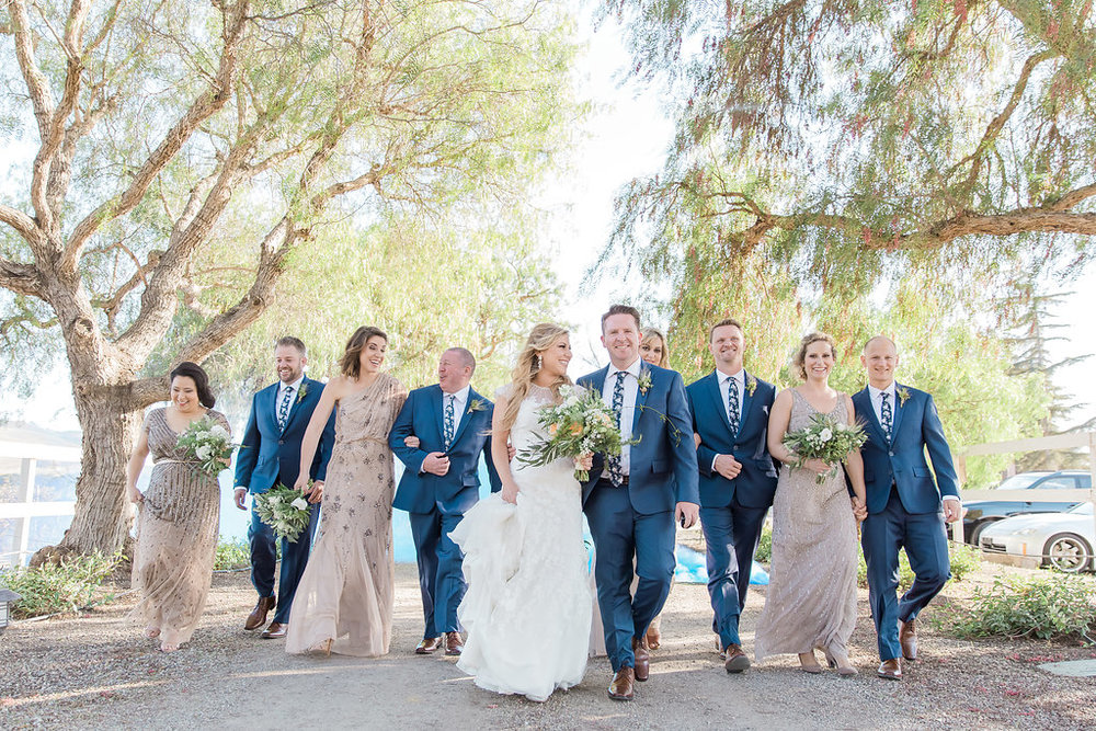 www.santabarbarawedding.com | Jessica Angell Photography | Apple Creek Ranch | Bridal Party