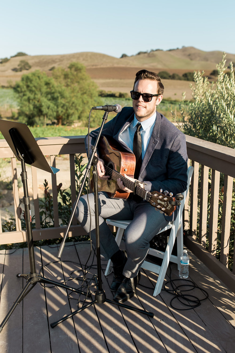 www.santabarbarawedding.com | Jessica Angell Photography | Apple Creek Ranch | Musician