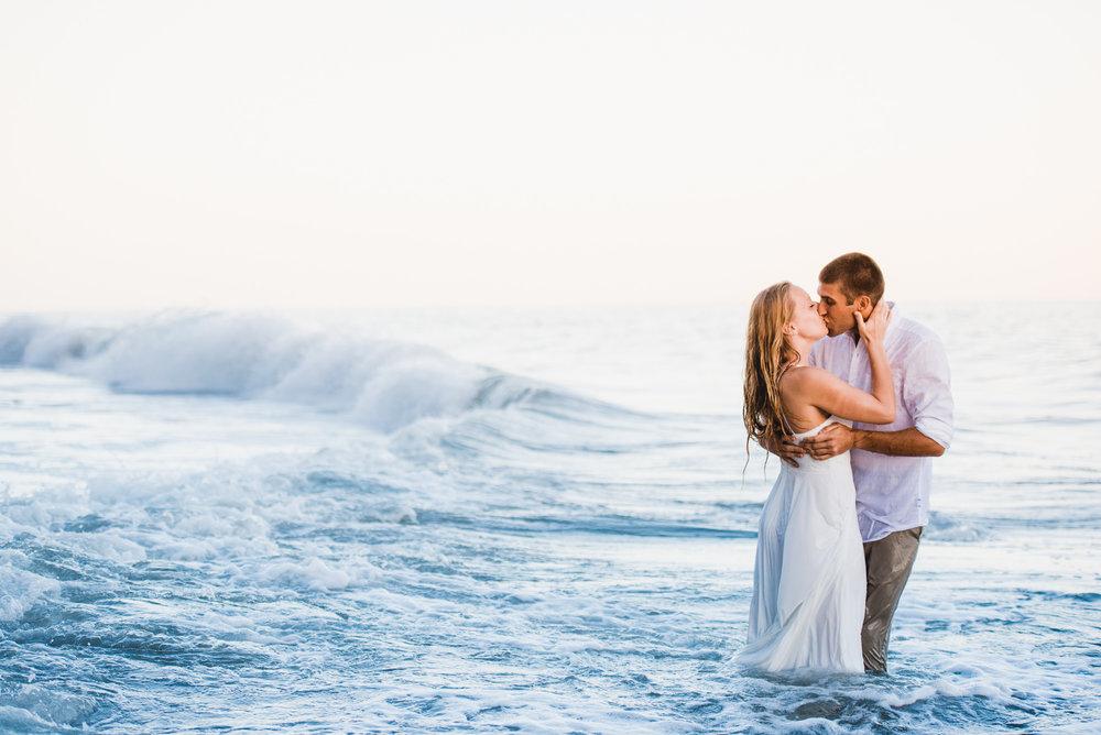 www.santabarbarawedding.com | Grace Kathryn Photography | One Thousand Steps Beach | Engagement Session