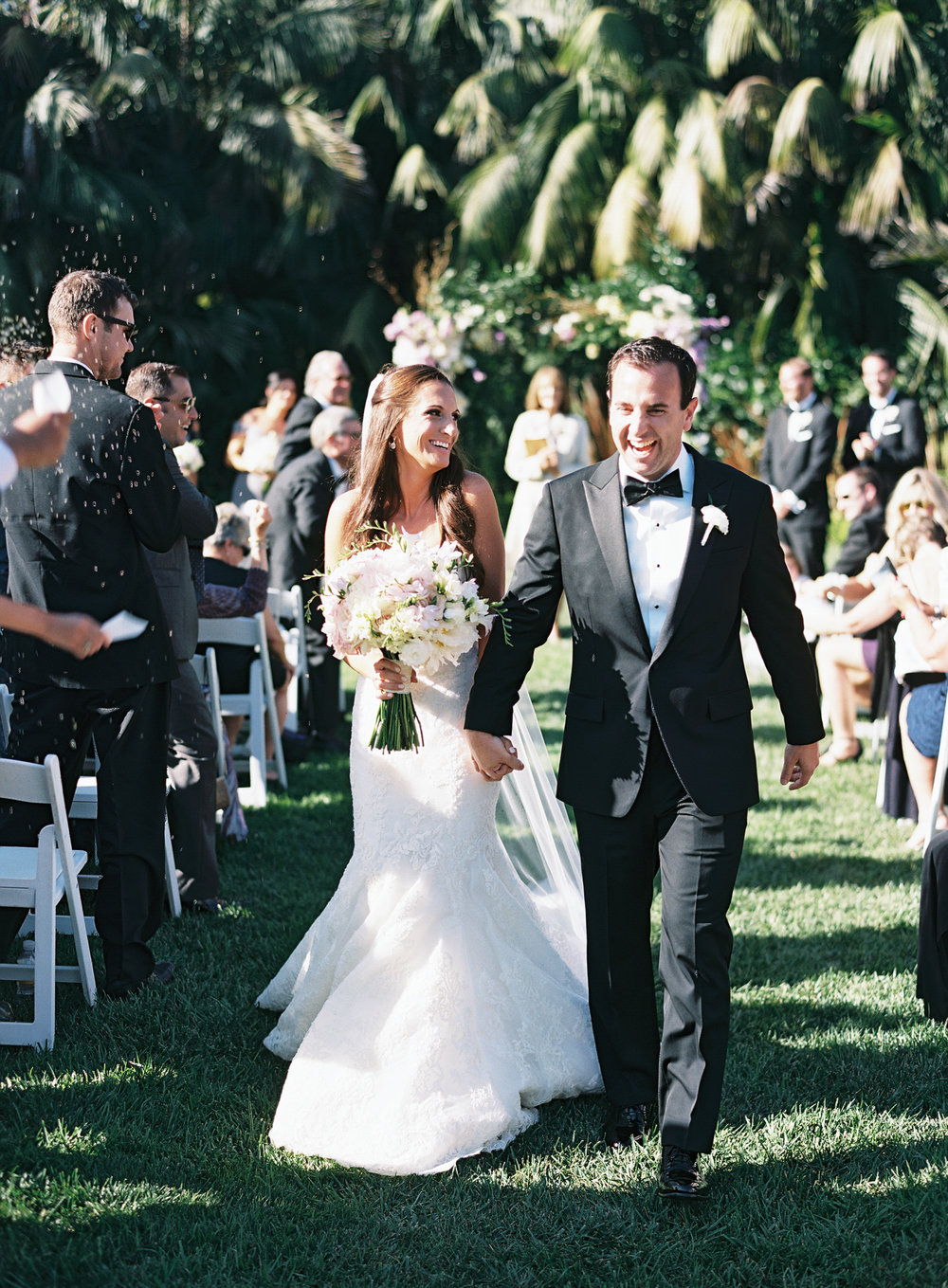 www.santabarbarawedding.com | Ashley Kelemen Photography | Four Seasons Santa Barbara | Ceremony | Bride and Groom