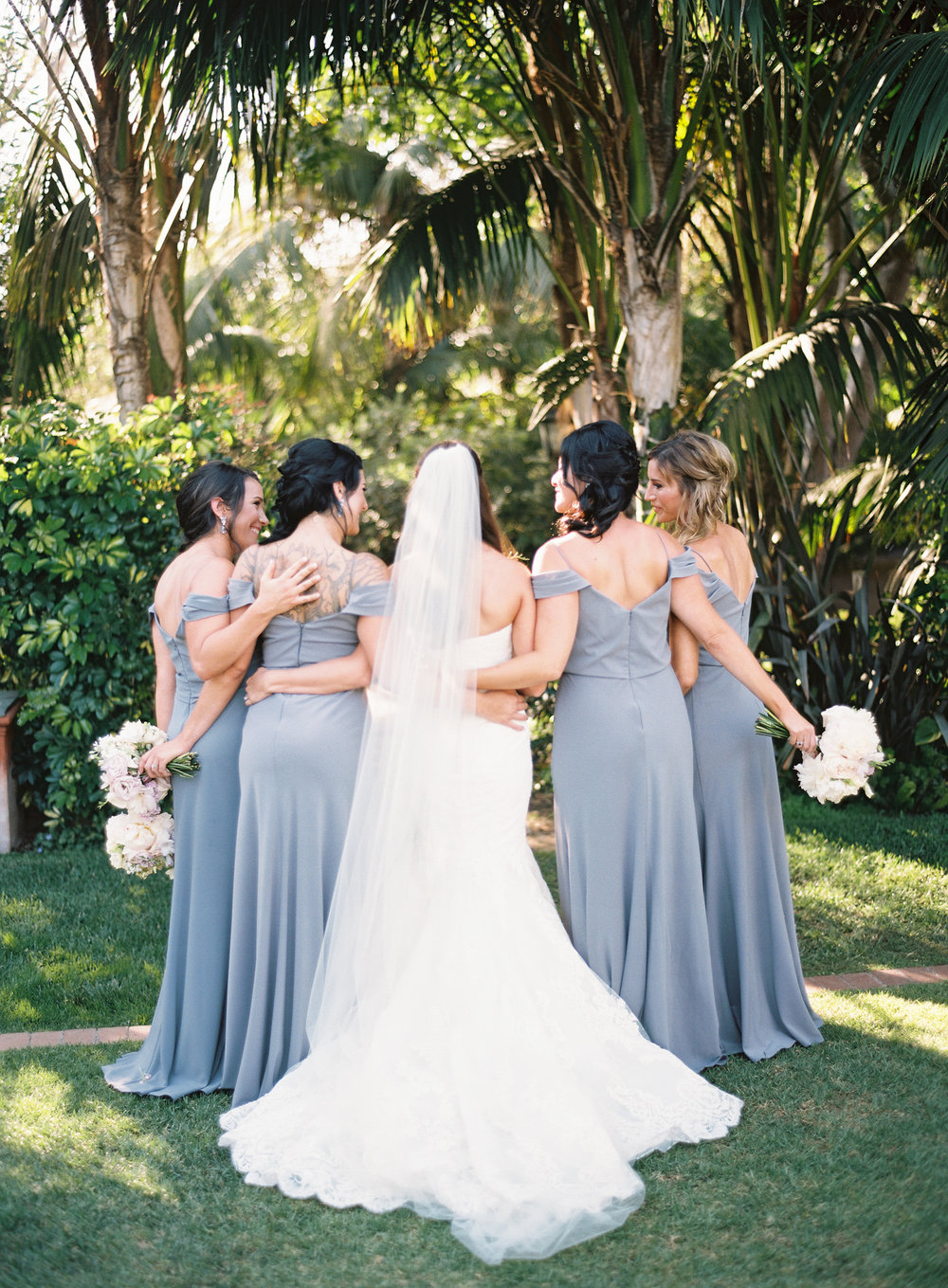 www.santabarbarawedding.com | Ashley Kelemen Photography | Four Seasons Santa Barbara | Bridesmaids