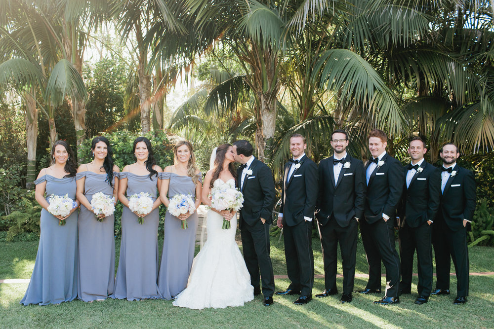 www.santabarbarawedding.com | Ashley Kelemen Photography | Four Seasons Santa Barbara | Bridal Party