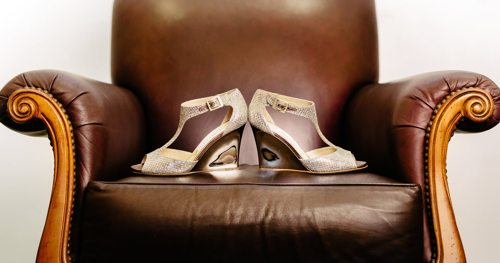 www.santabarbarawedding.com | Rewind Photography | Condor Ridge Ranch | Bridal Shoes