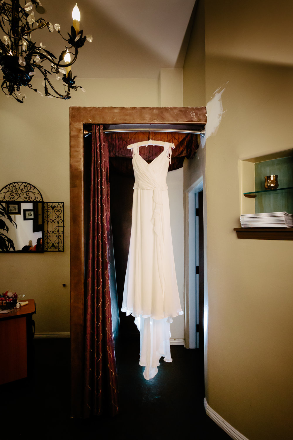 www.santabarbarawedding.com | Rewind Photography | Condor Ridge Ranch | Wedding Dress