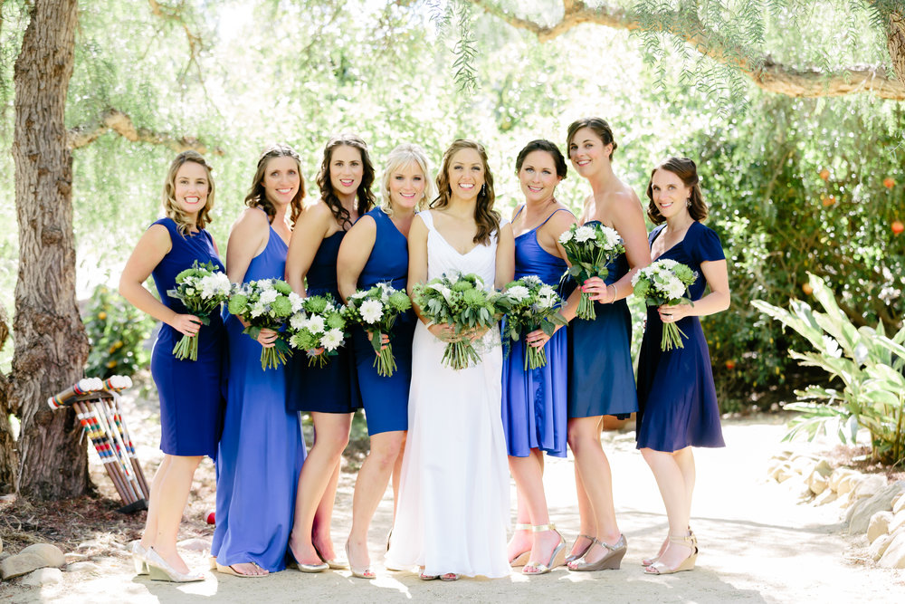 www.santabarbarawedding.com | Rewind Photography | Condor Ridge Ranch | Bridesmaids