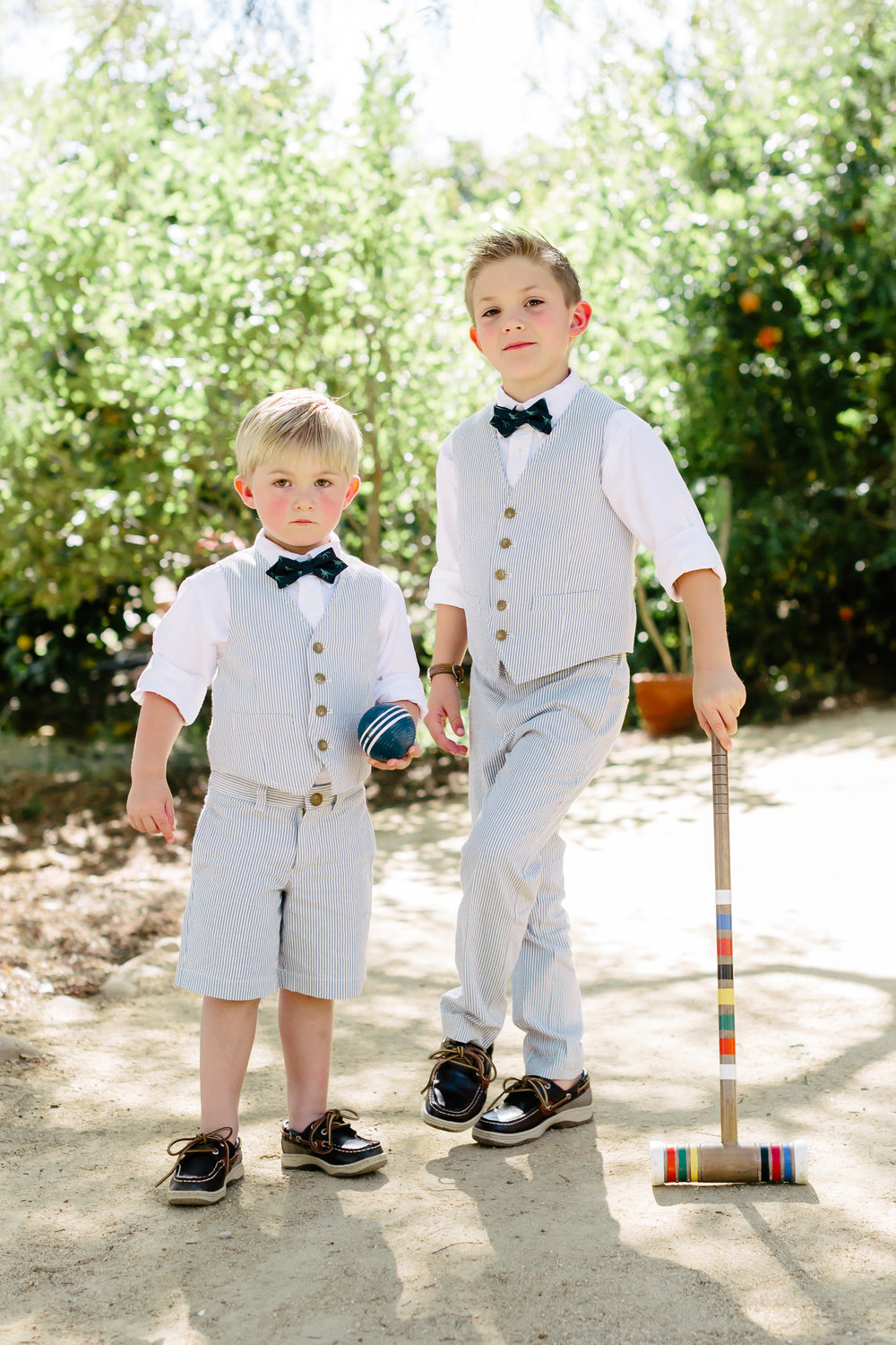 www.santabarbarawedding.com | Rewind Photography | Condor Ridge Ranch | Ring Bearers