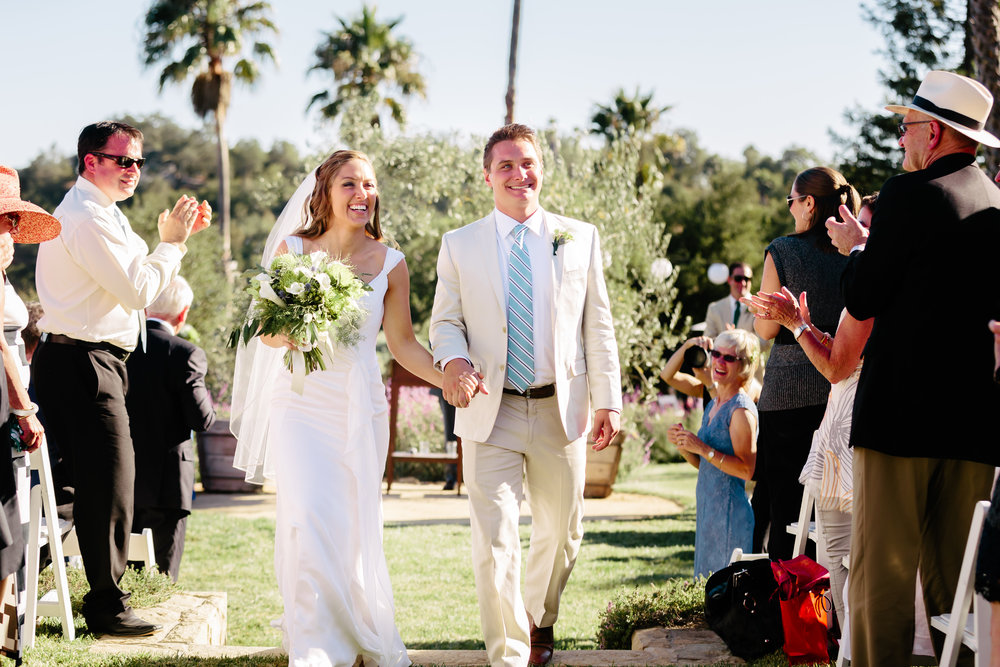 www.santabarbarawedding.com | Rewind Photography | Condor Ridge Ranch | Bride and Groom | Ceremony