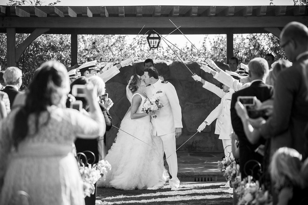 www.santabarbarawedding.com | Heartstone Ranch | Anna Schmidt Photography | Ceremony | Bride and Groom