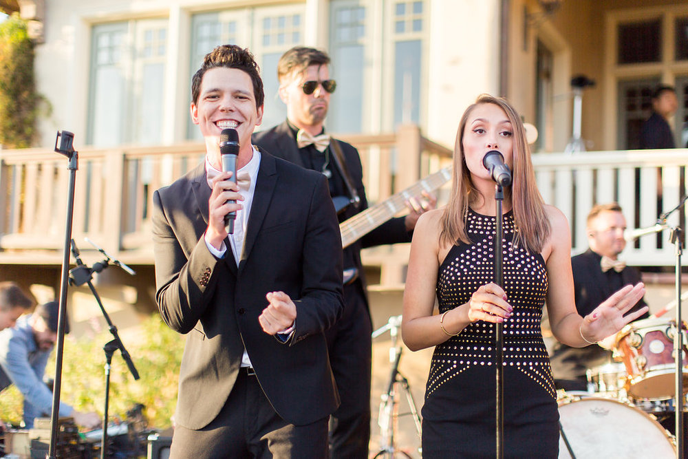 www.santabarbarawedding.com | Heartstone Ranch | Anna Schmidt Photography | Reception Band