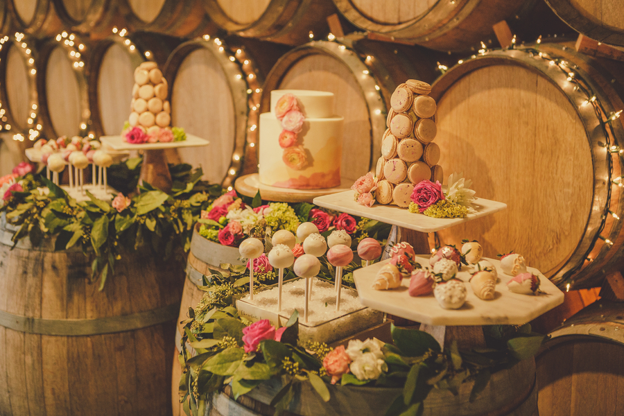 www.santabarbarawedding.com | Kramer Events | Adelaida Cellars | Reception Food