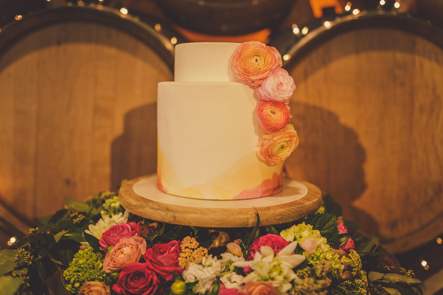 www.santabarbarawedding.com | Kramer Events | Adelaida Cellars | Wedding Cake