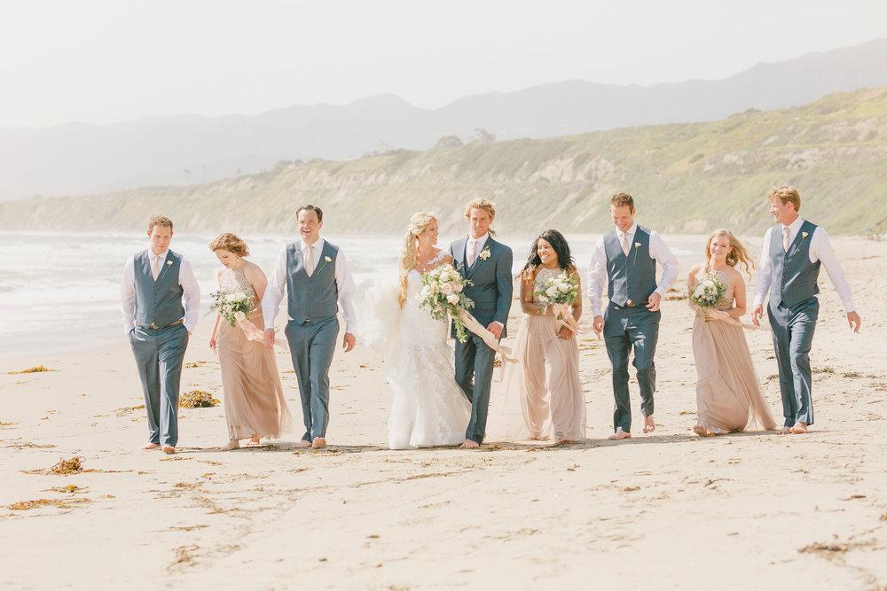 www.santabarbarawedding.com | Kristen Booth Photography | Rincon Beach Club | Wedding Party