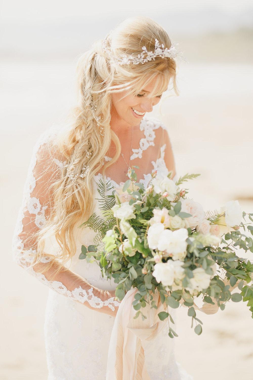 www.santabarbarawedding.com | Kristen Booth Photography | Rincon Beach Club | Bride | Bridal Bouquet