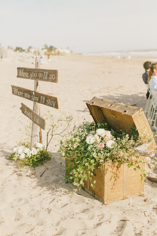 www.santabarbarawedding.com | Kristen Booth Photography | Rincon Beach Club | Ceremony Details