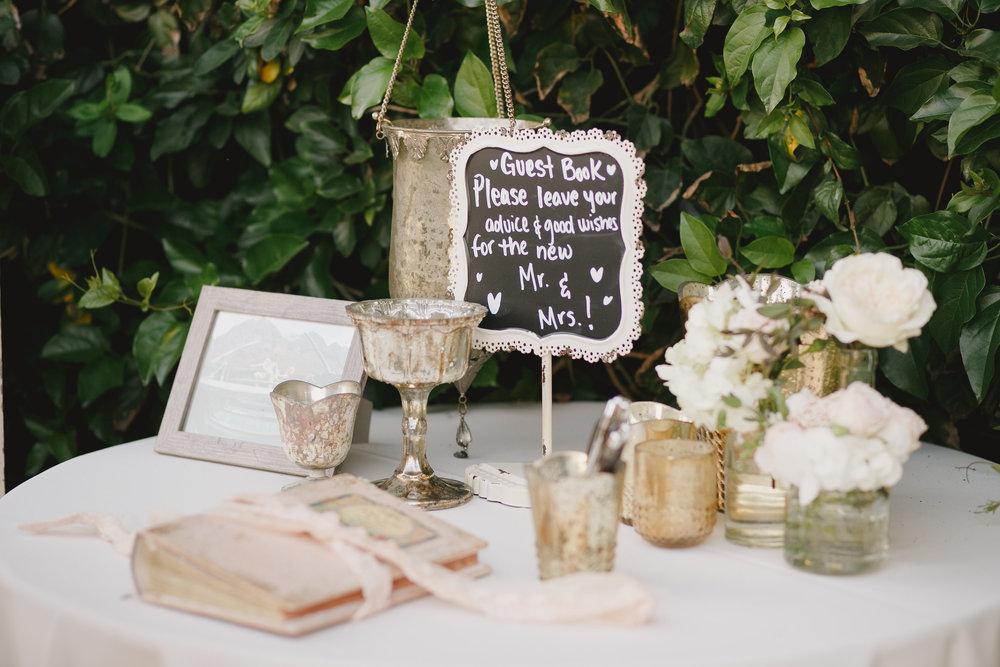 www.santabarbarawedding.com | Kristen Booth Photography | Rincon Beach Club | Reception Details