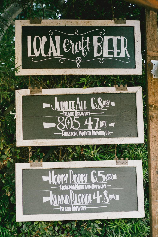 www.santabarbarawedding.com | Kristen Booth Photography | Rincon Beach Club | Reception Bar