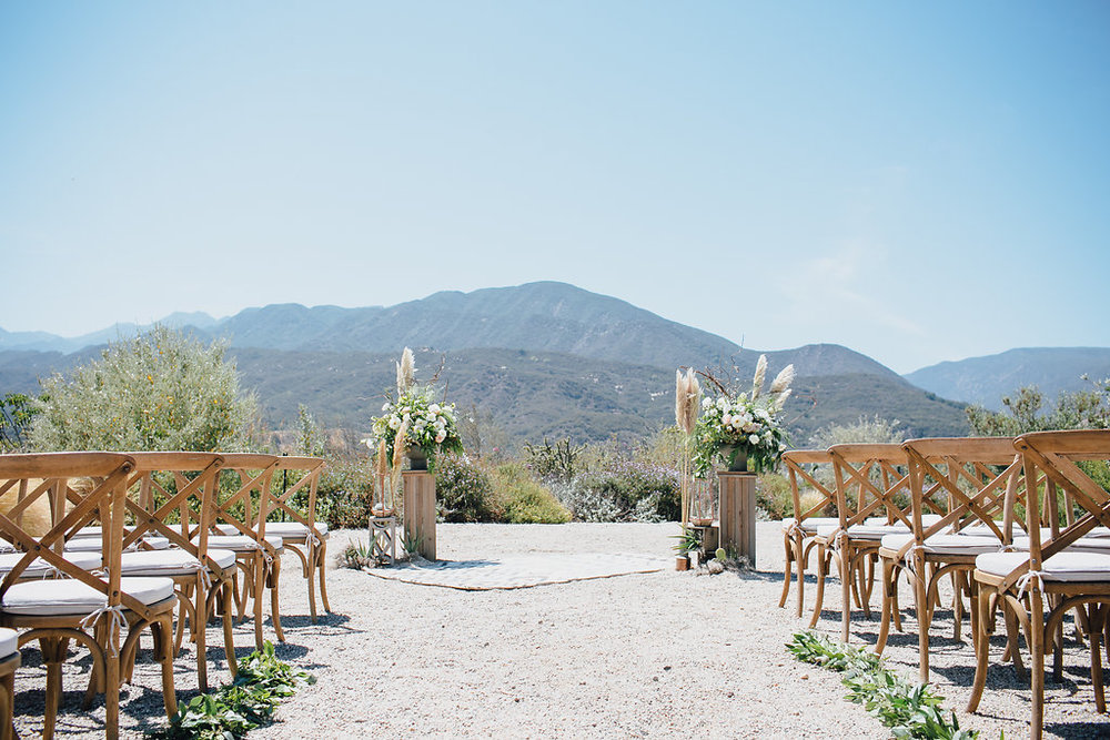 www.santabarbarawedding.com | Bijoux Events | Ojai Estate Wedding | Marble Rye Photography | Elli Lauren Photo | Ceremony