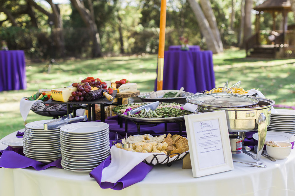 www.santabarbarawedding.com | hors d'ouvres | appetizer tips | Catering connection | appetizer station | wedding menu