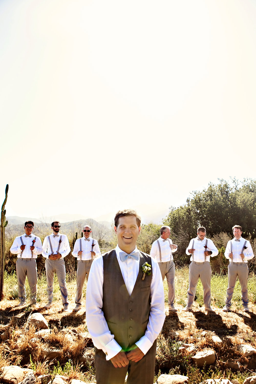 www.santabarbarawedding.com | Andrejka Photography | Red Tail Ranch | Groomsmen