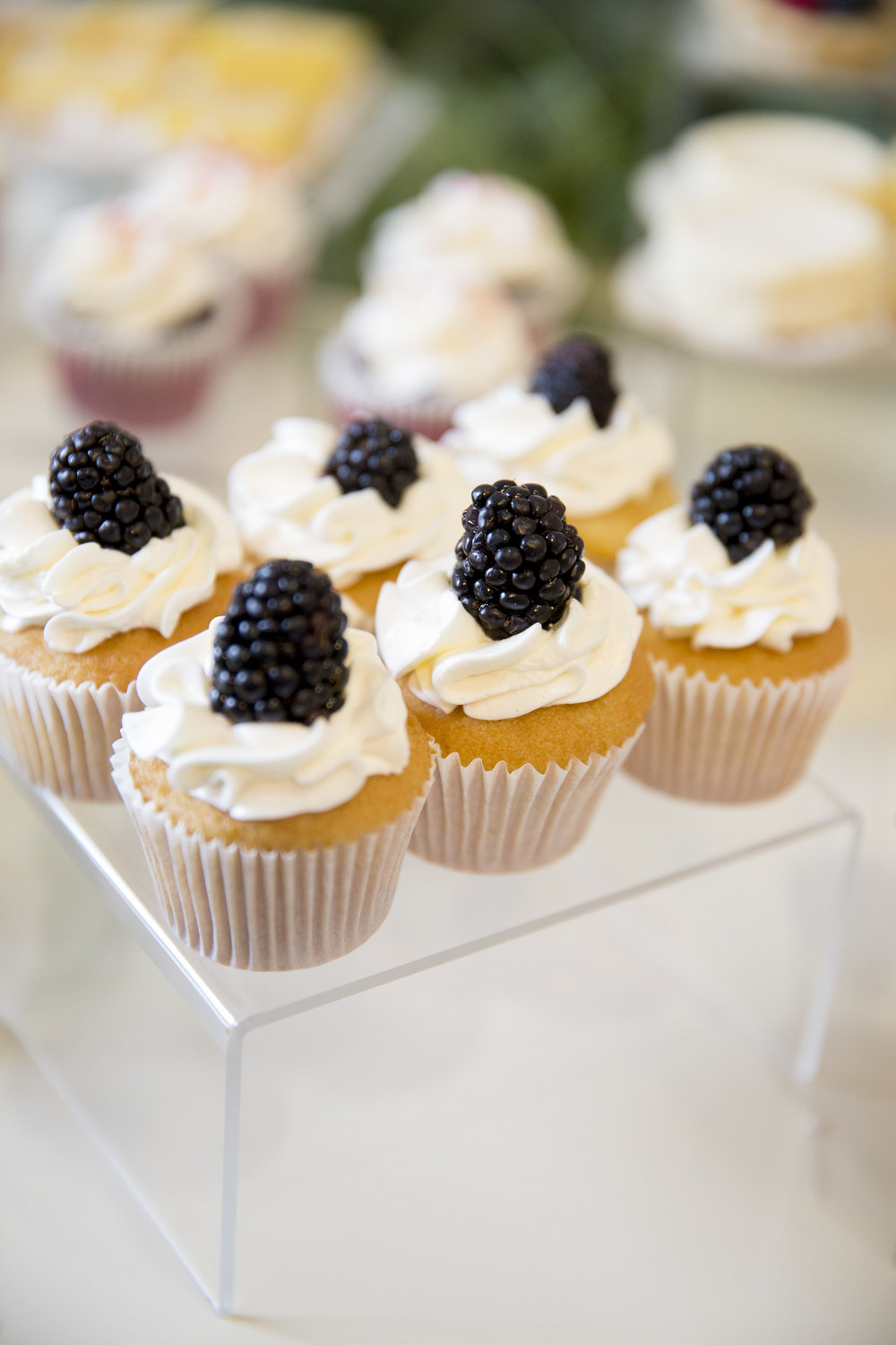 www.santabarbaraweddingstyle | dessert buffet | Dessert ideas | mini cupcakes | lele patisserie | Kristen Beinke Photography