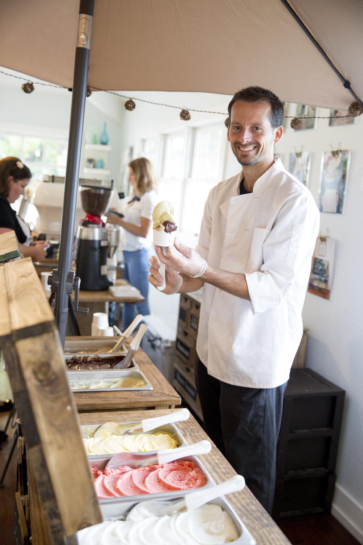 www.santabarbarawedding.com | tondi gelato | ice cream desserts | dairy free | dessert | Kristen Beinke photography