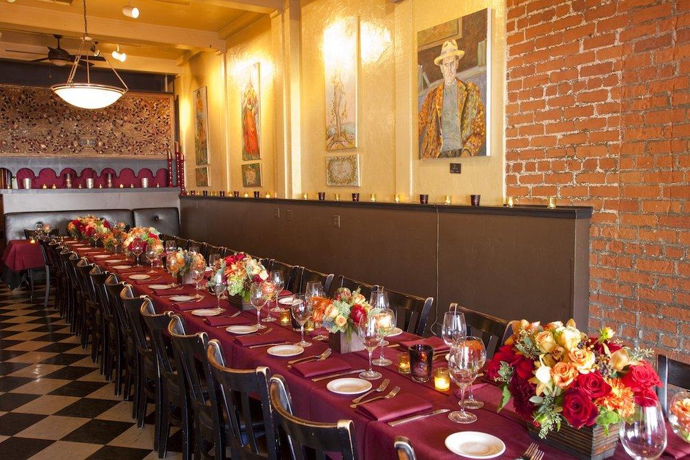 www.santabarbarawedding.com | opal restaurant and bar | reception location | wedding venue | rehearsal dinner | Restaurant