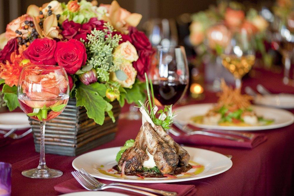 www.santabarbarawedding.com | opal restaurant and bar | reception location | wedding venue | rehearsal dinner | Restaurant | oven roasted lamb