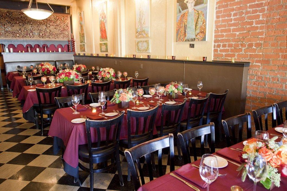 www.santabarbarawedding.com | opal restaurant and bar | reception location | wedding venue | rehearsal dinner | private events