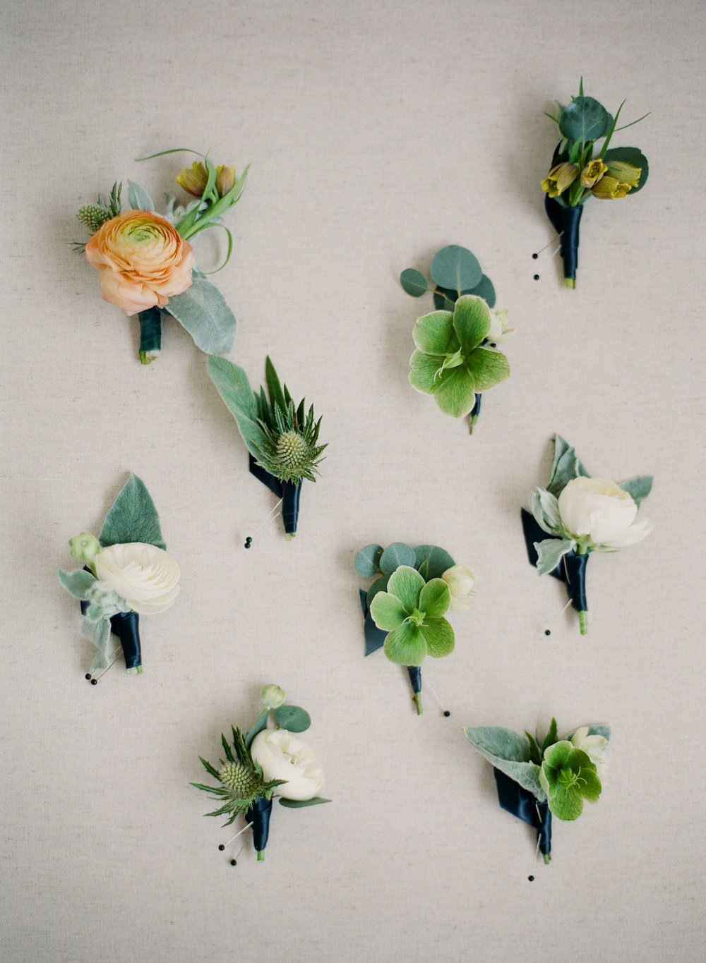 www.santabarbarawedding.com | Michelle Beller Photography | Ojai Valley Inn | Boutonnieres