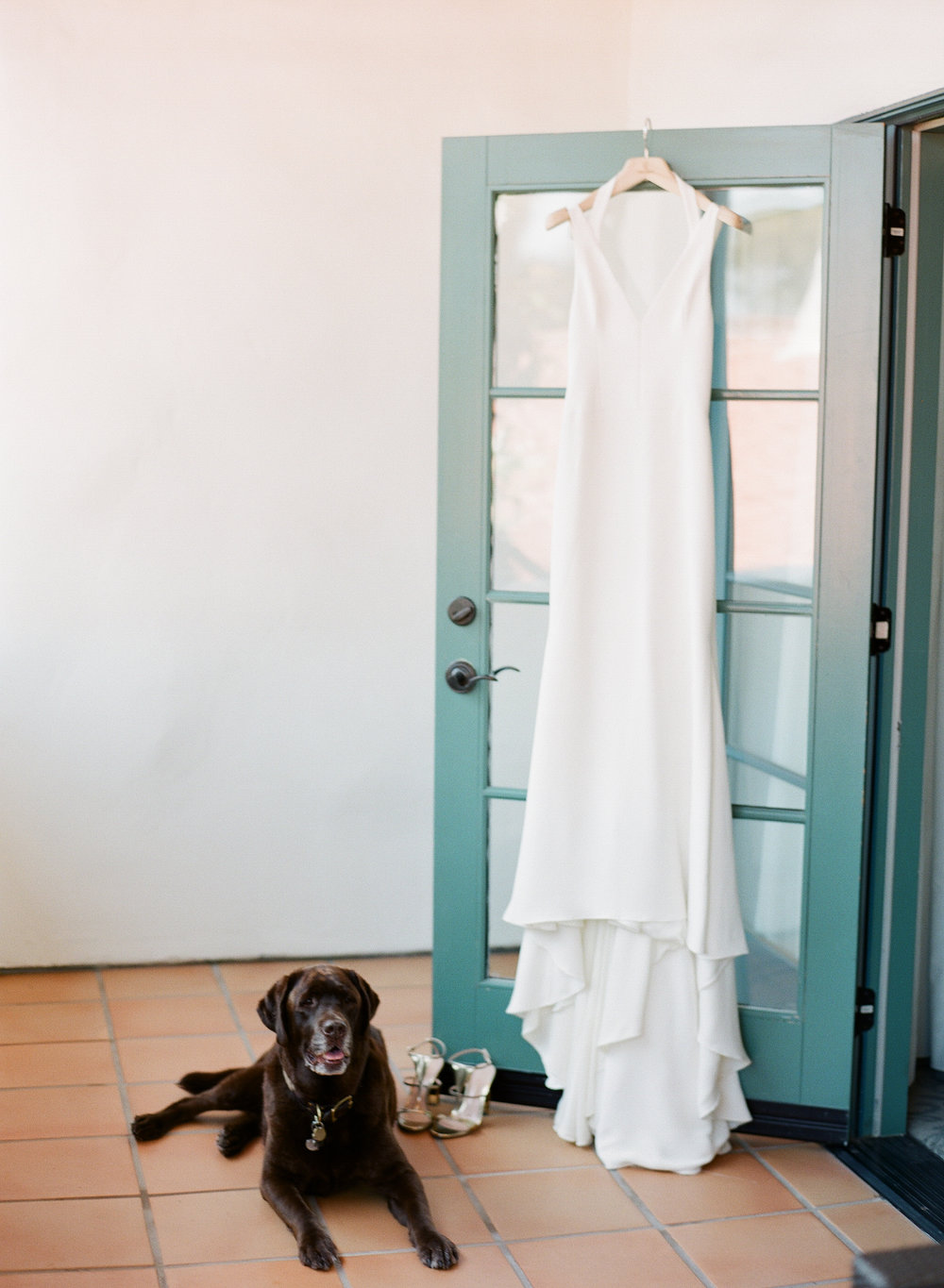 www.santabarbarawedding.com | Michelle Beller Photography | Ojai Valley Inn | Wedding Dress