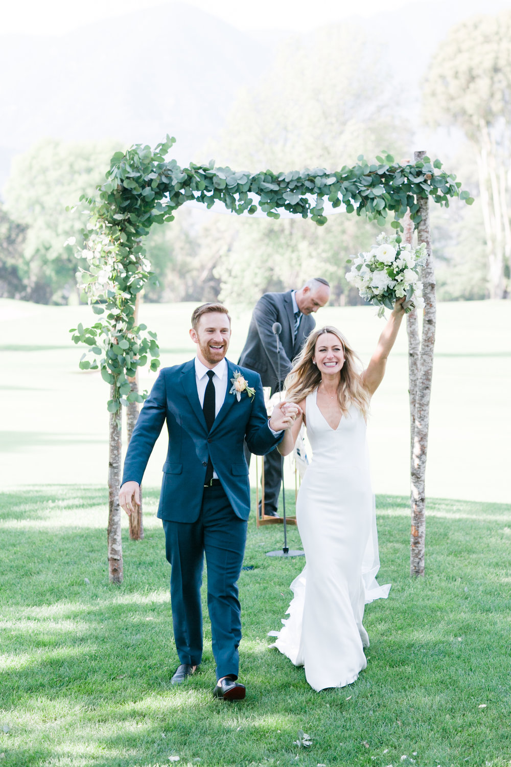 www.santabarbarawedding.com | Michelle Beller Photography | Ojai Valley Inn | Ceremony | Bride and Groom