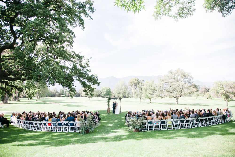 www.santabarbarawedding.com | Michelle Beller Photography | Ojai Valley Inn | Ceremony