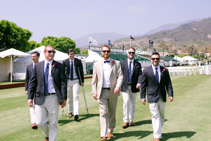 www.santabarbarawedding.com | SB Polo and Racquet Club | By Cherry Photography | Groomsmen