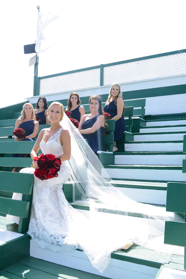 www.santabarbarawedding.com | SB Polo and Racquet Club | By Cherry Photography | Bridesmaids
