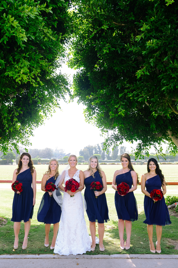 www.santabarbarawedding.com | SB Polo and Racquet Club | By Cherry Photography | Bridemaids