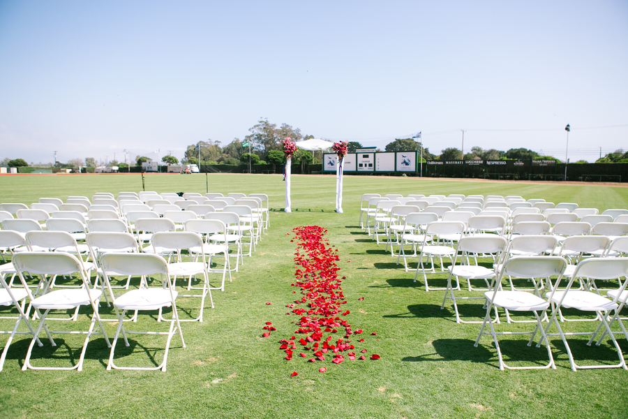 www.santabarbarawedding.com | SB Polo and Racquet Club | By Cherry Photography | Ceremony