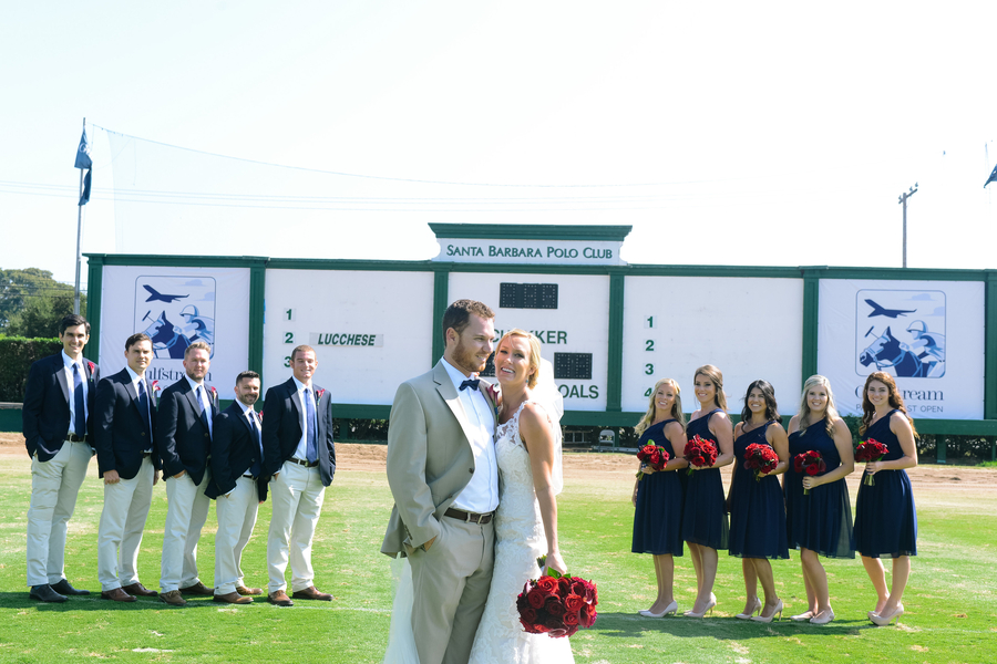 www.santabarbarawedding.com | SB Polo and Racquet Club | By Cherry Photography | Bridal Party