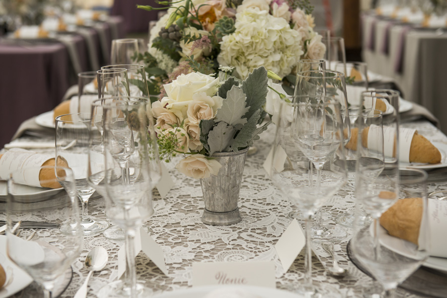 www.santabarbarawedding.com | San Ysidro Ranch | David Kepner Photography | Reception Table