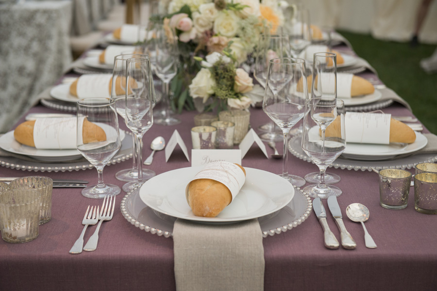 www.santabarbarawedding.com | San Ysidro Ranch | David Kepner Photography | Reception Details