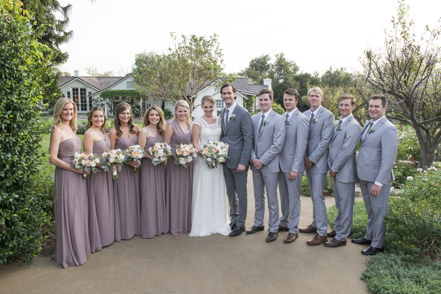 www.santabarbarawedding.com | San Ysidro Ranch | David Kepner Photography | Bridal Party