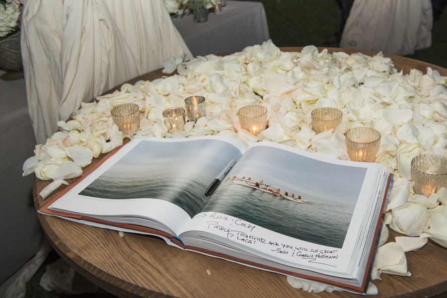 www.santabarbarawedding.com | San Ysidro Ranch | David Kepner Photography | Guest Book